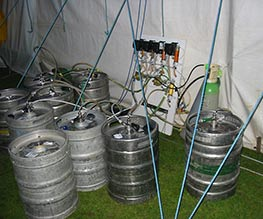 mobile beer supplies